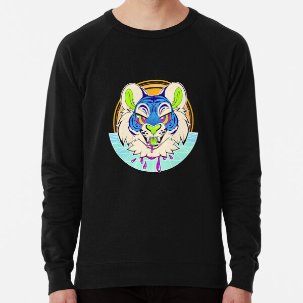 Tiger Vaporwave Lightweight Sweatshirt
