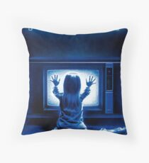 Poltergeist Throw Pillow