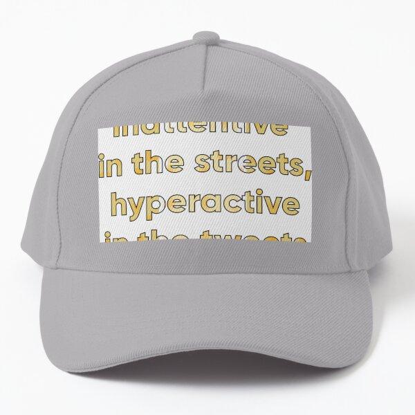 Hyperactive Tweets Baseball Cap