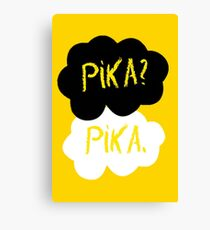 Pika in our stars Canvas Print