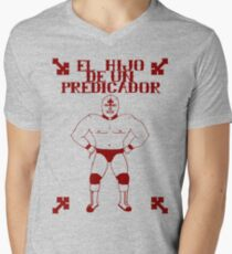 El Hijo Del Hijo De Un Predicador Mens V-Neck T-Shirt