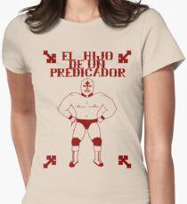 El Hijo Del Hijo De Un Predicador Women's Fitted T-Shirt