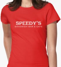 Speedy's Sandwich Bar & Cafe Womens Fitted T-Shirt