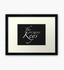 The Cross Keys – Sherlock, BBC Framed Print