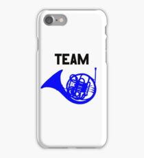 Team Blue French Horn – Ted, Robin, HIMYM iPhone Case/Skin