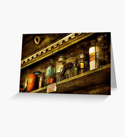 The Olde Apothecary Shop Greeting Card
