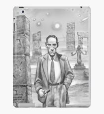 HP Lovecraft - Explorer of Strange Worlds iPad Case/Skin
