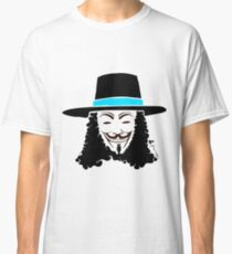 Keinage - Les Couleur | V for Vendetta Classic T-Shirt
