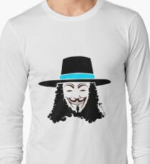Keinage - Les Couleur | V for Vendetta Long Sleeve T-Shirt