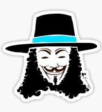 Keinage - Les Couleur | V for Vendetta Sticker