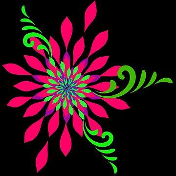 Flowered Spiral by Harleythemk