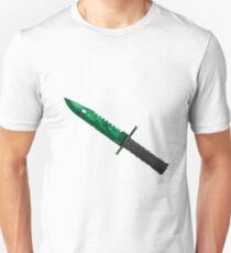 M9 bayonet - Gamma Doppler Unisex T-Shirt