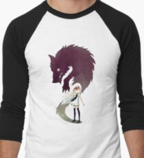 Werewolf Men's Baseball ¾ T-Shirt