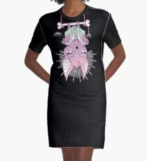 Batty About Books! Graphic T-Shirt Dress