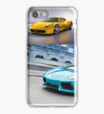 sports cars iPhone Case/Skin