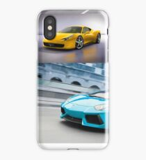 sports cars iPhone Case/Skin
