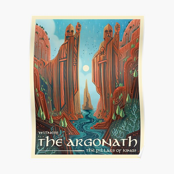 The Argonath Poster