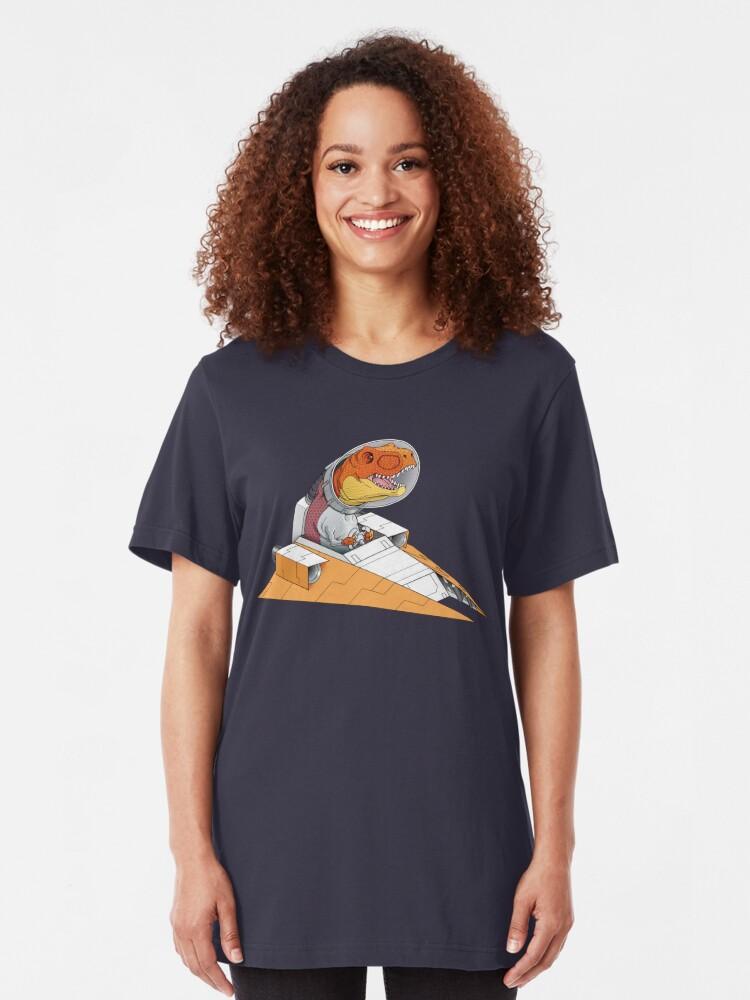Alternative Ansicht von Triumphierende Rückkehr Slim Fit T-Shirt