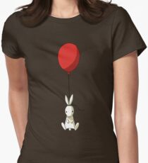 Balloon Bunny Womens Fitted T-Shirt