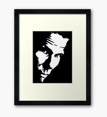 Tom Waits For No Man Framed Print