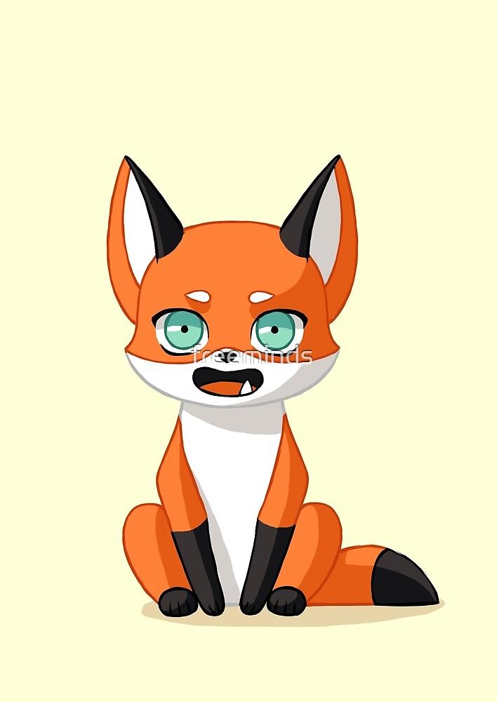 Fox Cub by freeminds