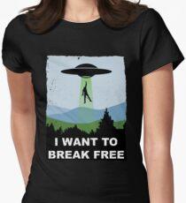 I Want to Break Free - Freddie Returns to Mercury Fitted T-Shirt