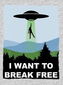 I Want to Break Free - Freddie Returns to Mercury Kids Pullover Hoodie