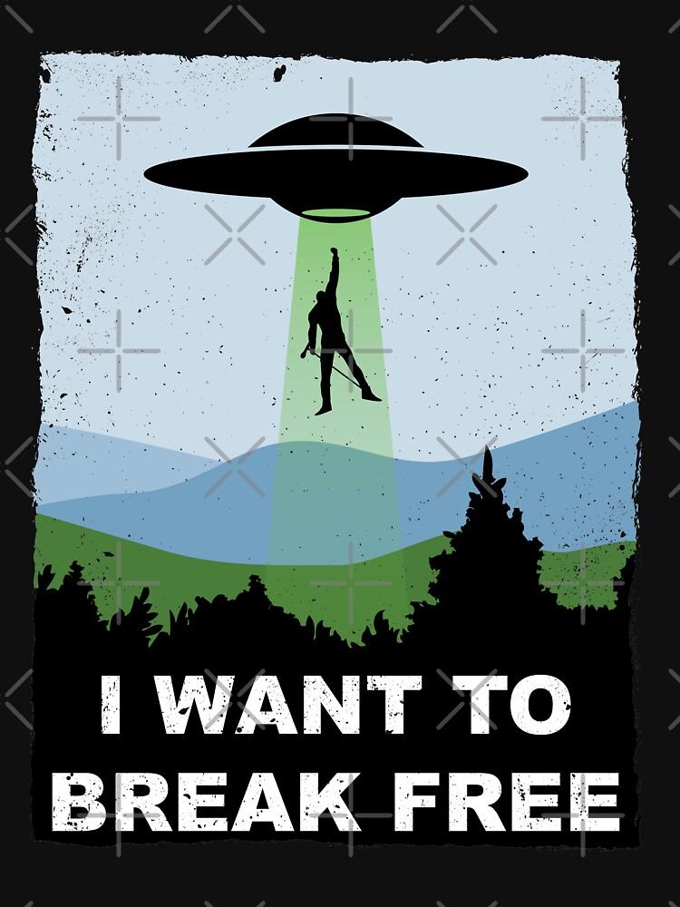 I Want to Break Free - Freddie Returns to Mercury by everyplate