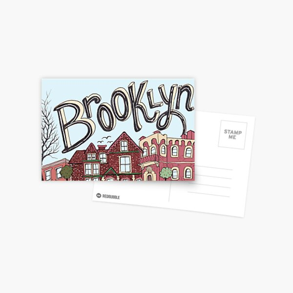 Brooklyn Illustration Postcard