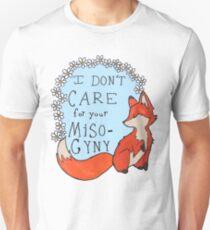 Feministischer Fuchs Slim Fit T-Shirt