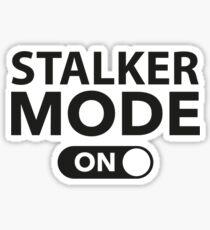Stalker Mode On Sticker