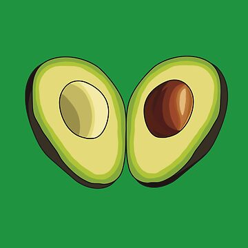 Avocado Heart by LaurArt
