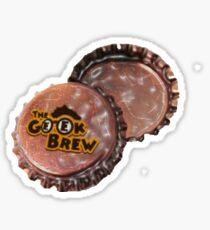 The Geek Brew Bottle Caps Sticker