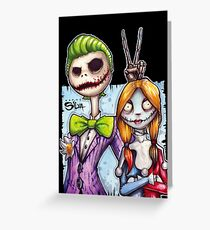 Nightmare In Gotham Greeting Card