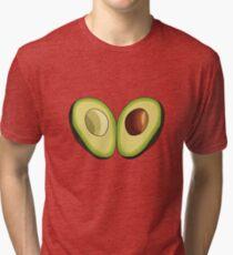 Avocado Heart Tri-blend T-Shirt