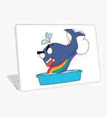 angry zombie whale vs kiddie pool Laptop Skin