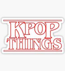 """Pegatina """"COSAS DE KPOP"""" - Logotipo inspirado de las cosas más extrañas"""
