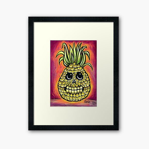Pineapple! Framed Art Print