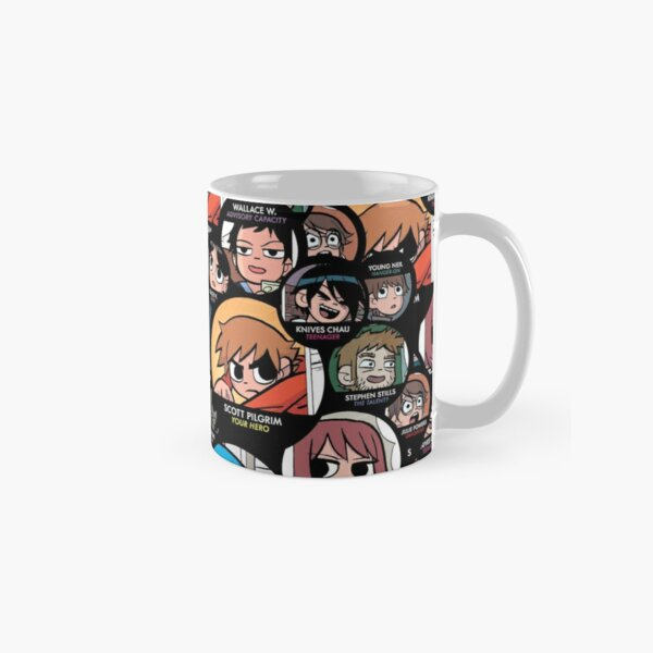 Scott Pilgrim characters Classic Mug