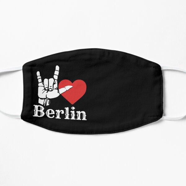 Ich liebe Berlin, Liebeszeichengeschenk Flache Maske