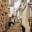 Narrow Cornish street by JEZ22