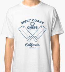 Crossed Chef's Knives design illustration Classic T-Shirt