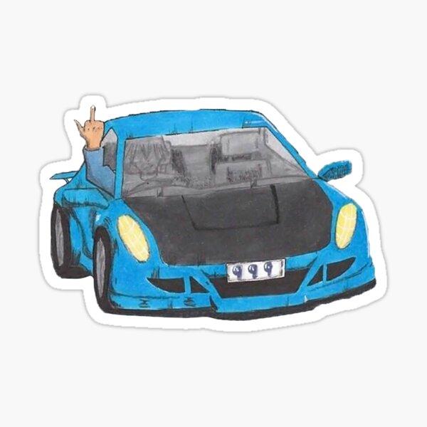 car 999 album Sticker