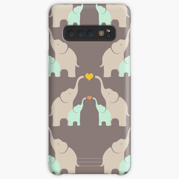 Little Elephant Family Samsung Galaxy Snap Case