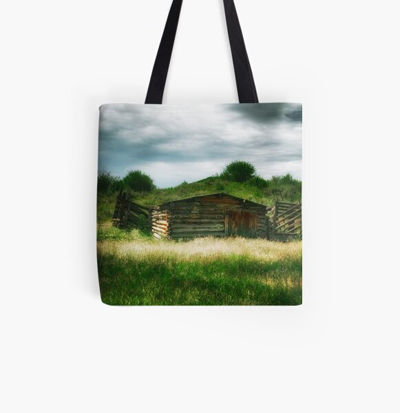 above it all All Over Print Tote Bag
