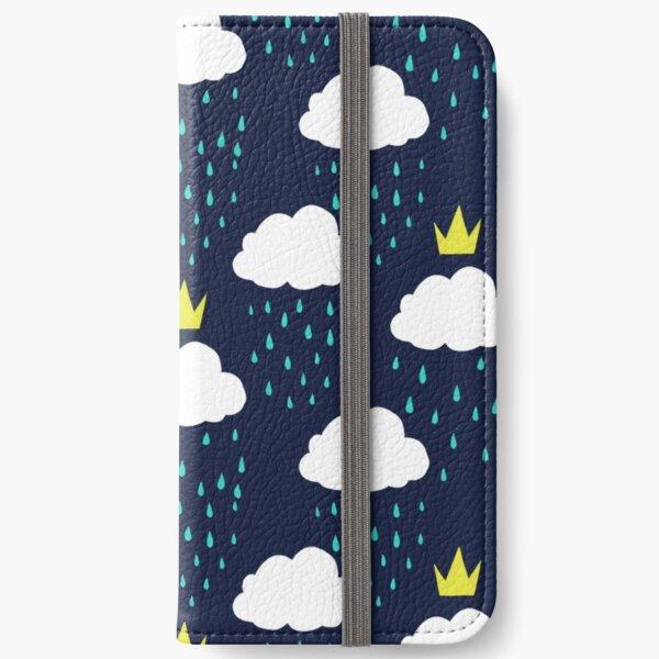 Royal Rain Clouds iPhone Wallet