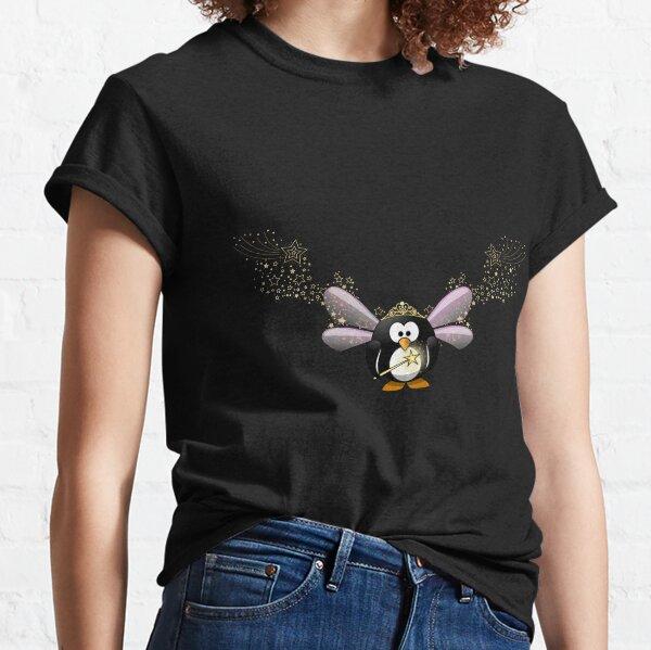 der feenpinguin mit flügeln und krone Classic T-Shirt