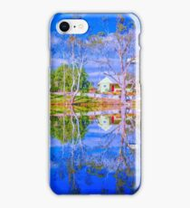 River Gums and the Red Door iPhone Case/Skin