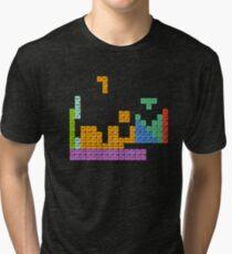 Periodic Tetrominoes Tri-blend T-Shirt