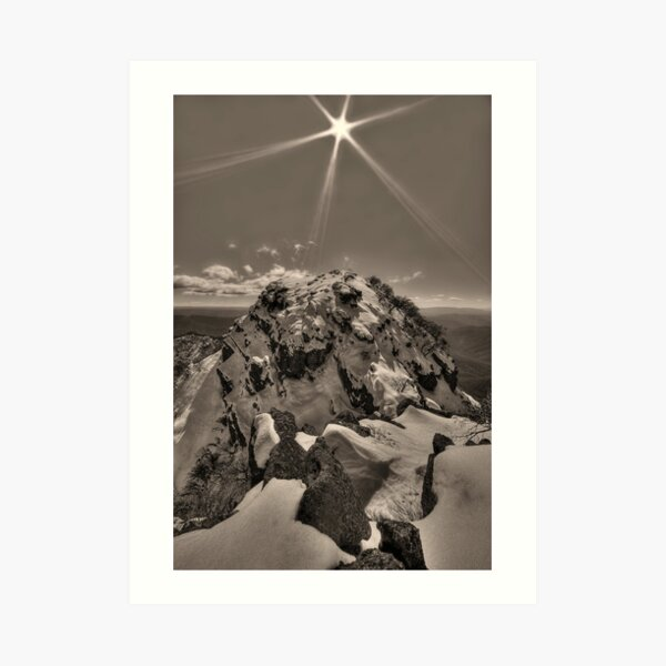 Mount Cobbler, Alpine NP Art Print